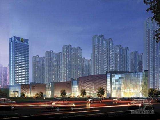 [山东]6.6万平方米大型框架剪力墙结构商业建筑群结构施工图