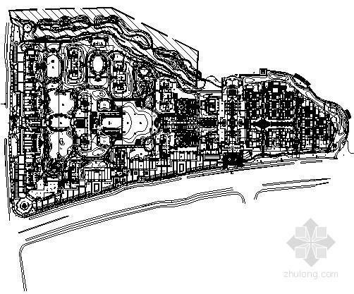 [绍兴]高层小区住宅景观工程电气施工图纸