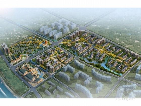 [成都]高档绿色生态型住宅区规划设计方案文本