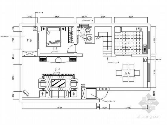 复式住宅装饰装修图