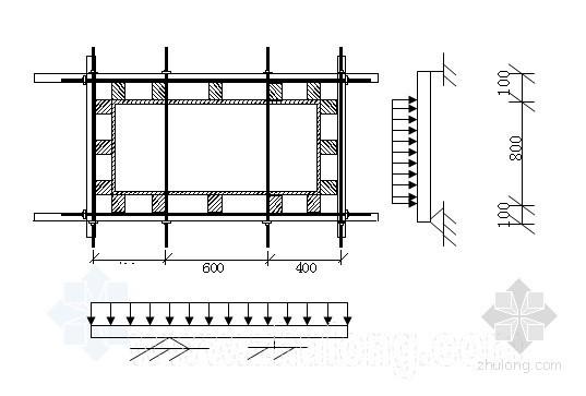 广州某地铁车站主体高支撑模板施工方案