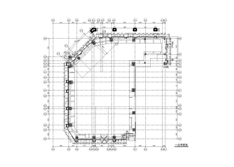 塔楼外装幕墙工程幕墙施工图2016_玻璃石材