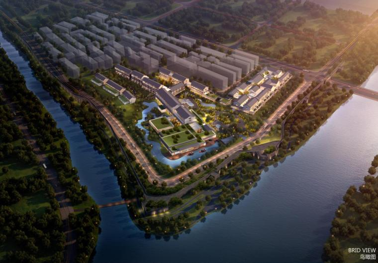 [湖北]新中式风格商业综合体建筑设计方案文本