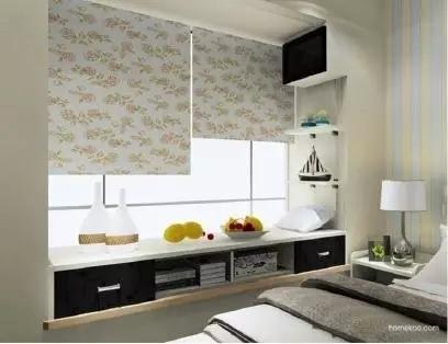 卧室惊艳地变了样还多了小资地儿,阳台飘窗改造术_9