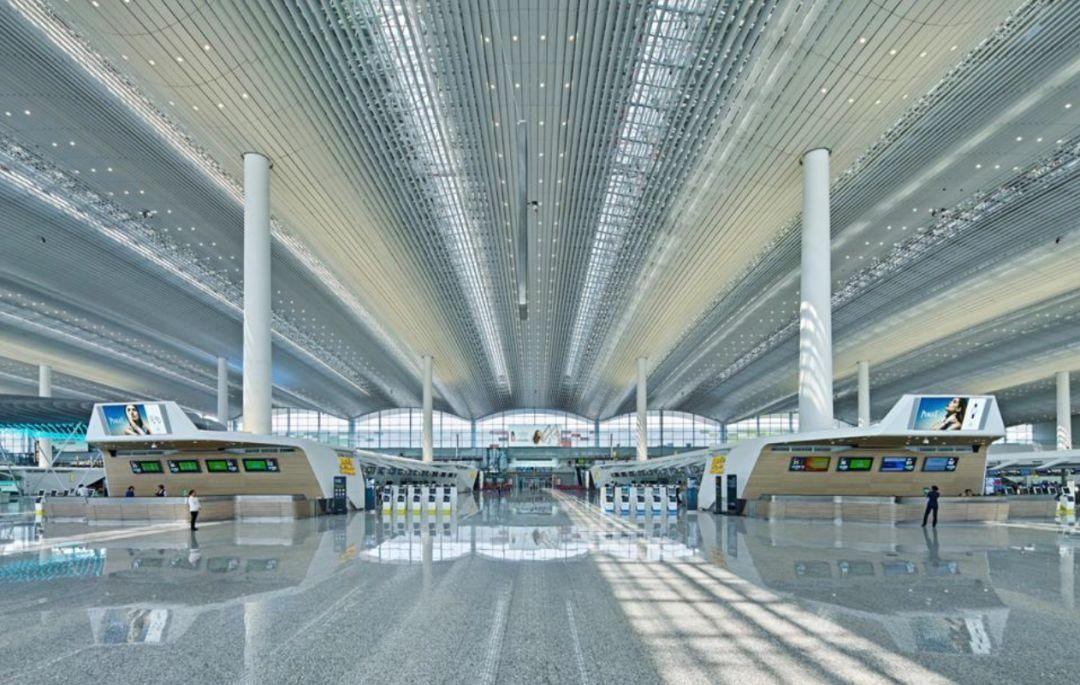 漫谈金属屋面的建筑设计应用(1)——广州新白云国际机场航站楼_41