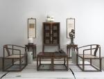 新中式禅意茶馆家具组合
