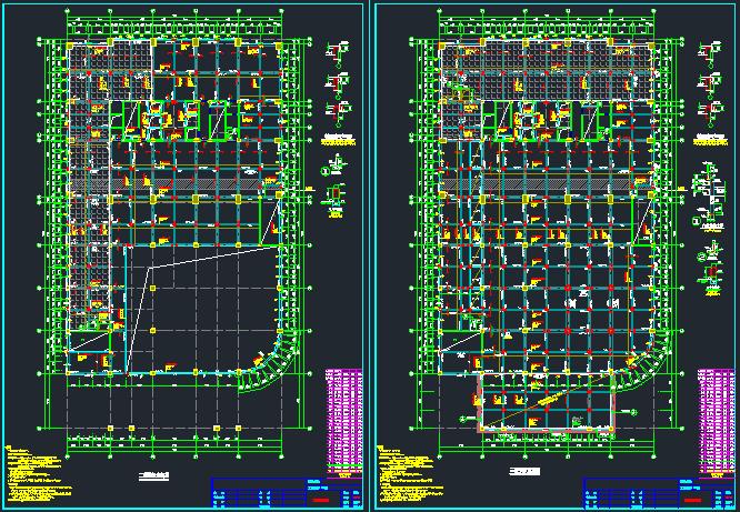[湖南]地上24层框架核心筒结构商务楼结构施工图_1