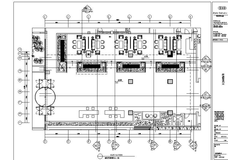 杭州萧山胤隆洗浴会所施工图(附物料表、效果图)