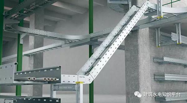 强弱电桥架有什么区别?可以合并吗?间距是多少?_4