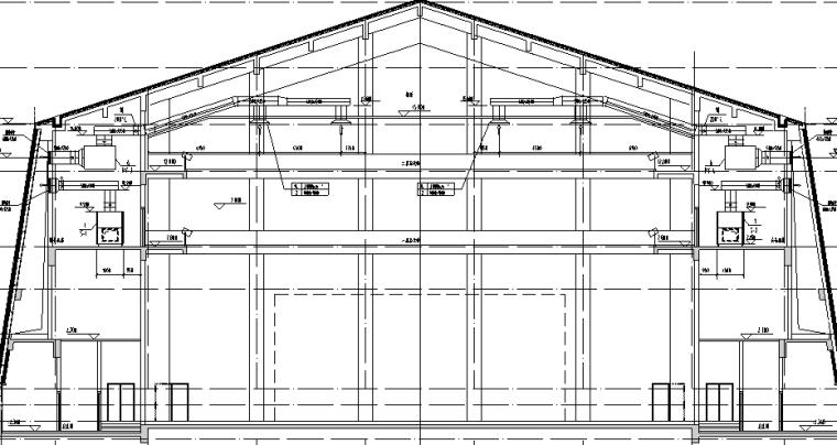 治多县剧场剧院暖通施工图(含通风系统,采暖系统,防排烟系统)_2