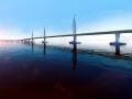 著名跨海大桥工程投标高清动画视频演示(18分钟)