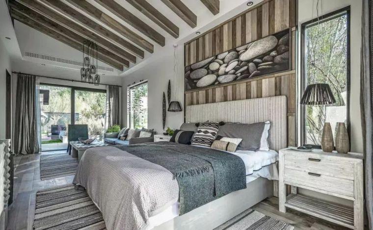 卧室背景墙别放空,这样设计美极了!_10