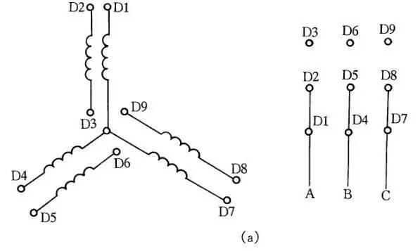 12种常用的电气设备接线图_9