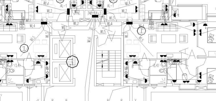 某高层住宅小区电气施工图