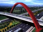 BIM论文-合肥新桥机场斜跨拱桥锚箱深化设计制作及BIM关键应用