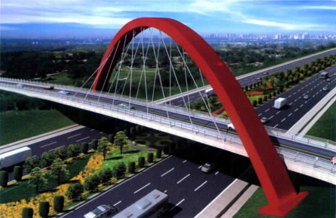 合肥新桥机场斜跨拱桥锚箱深化设计制作及BIM关键应用