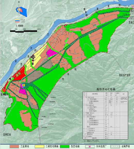 攀枝花高新技术产业区流沙坡园区控制性详细规划