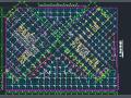 31层双V行框架剪力墙结构高层办公塔结构初步设计图纸