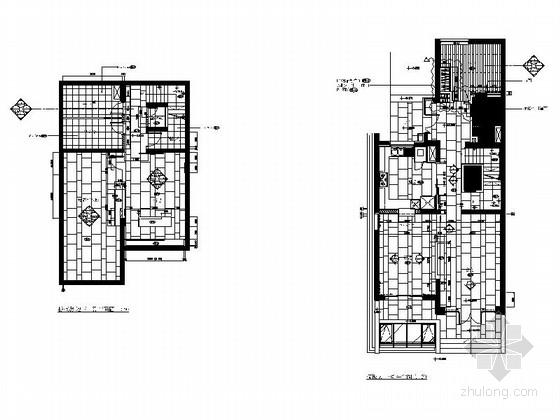 [上海]精品现代大气三层小别墅施工图