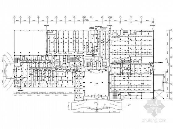 [江苏]花园商务型大酒店给排水施工图纸(蒸汽系统)