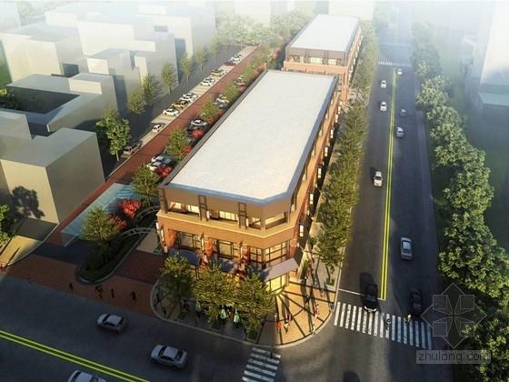 """[秦皇岛]""""独立式""""国际化商业综合体和街道景观规划设计方案"""