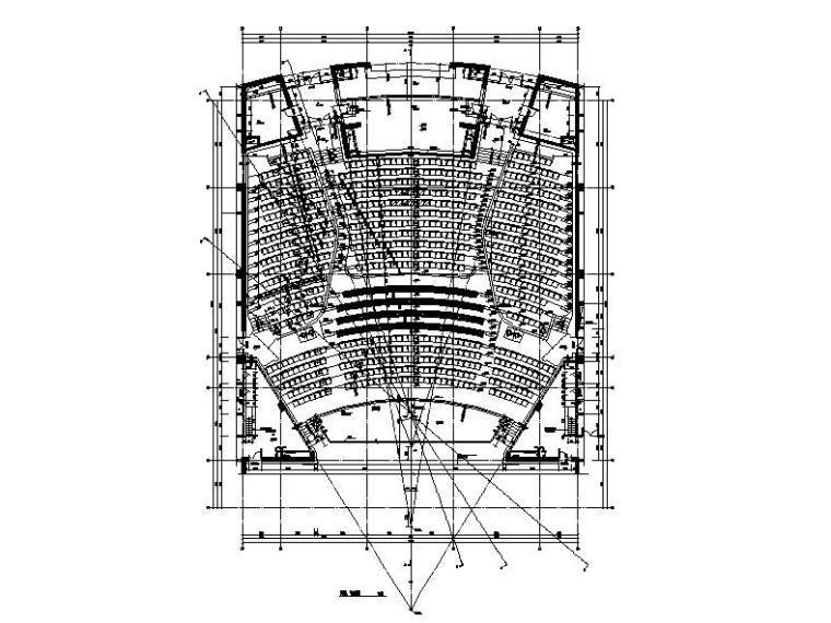 [内蒙古]四层新古典风格多功能文化中心建筑施工图(16年最新)_3