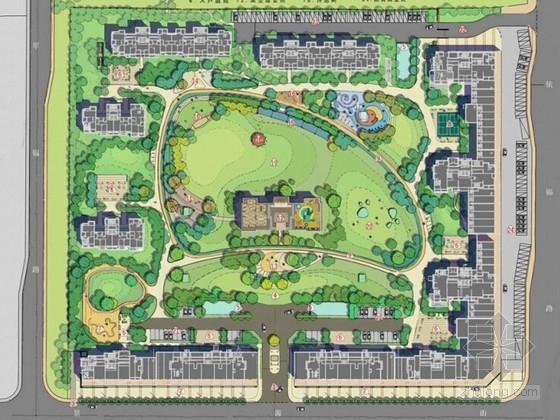 [杭州]都市商业住宅景观设计方案
