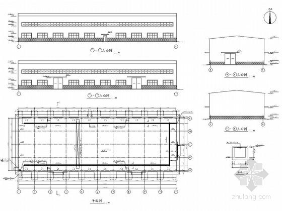 [化工厂房]门式刚架轻钢结构厂房