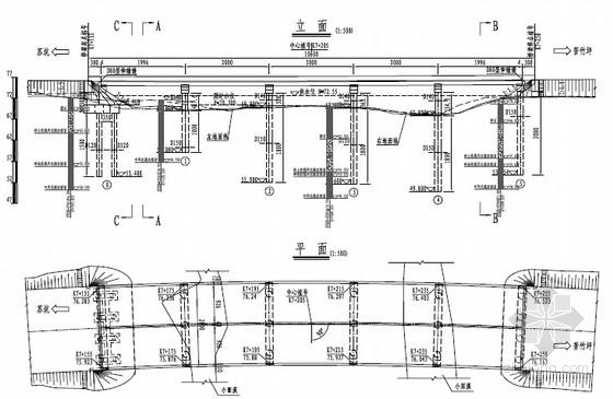 [福建]2015年设计1联5x20后张预应力混凝土空心板桥设计图纸75张(知名大院)