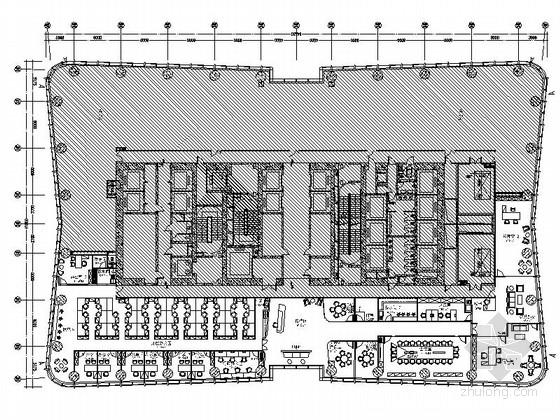 [北京]投资公司现代办公室室内装修施工图