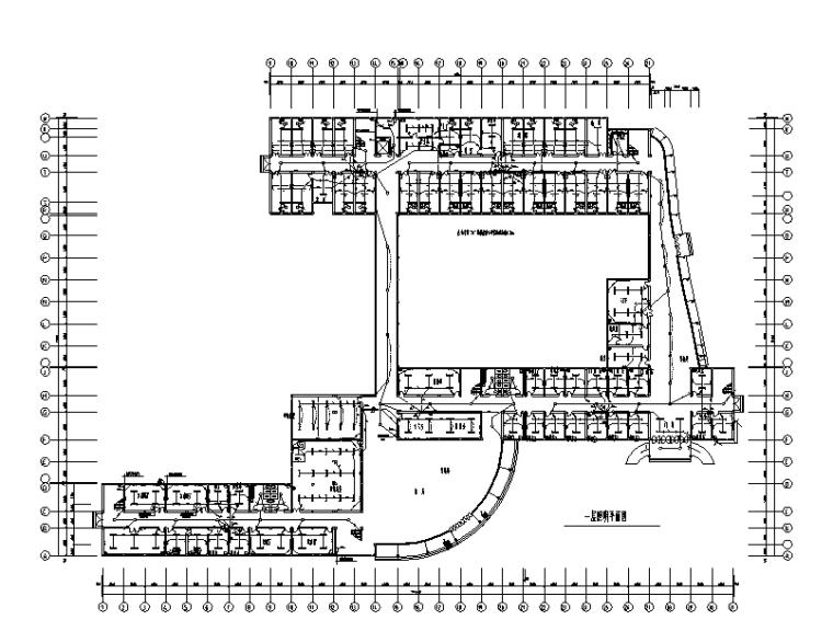 六層醫院電氣施工圖