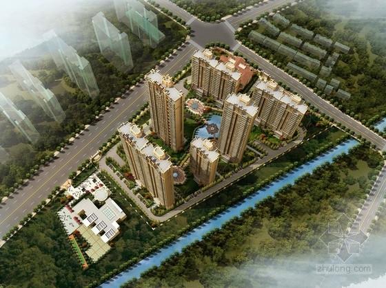 [江苏]城市综合居住区(居住区、商业地块)规划及单体设计方案文本