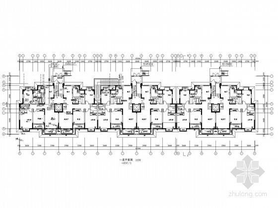 [江苏]十一层住宅楼给排水施工图(太阳能热水系统)