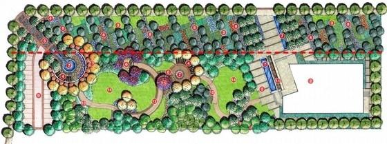 [北京]现代地标型住宅展示区规划设计方案(知名设计公司)-总平面