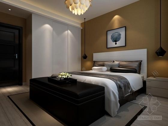 现代简约两居室装修图(含效果图) 效果图