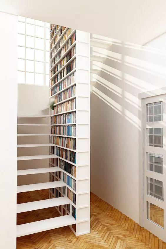 书房曾经落后啦,当今流行壹代的是家庭书简馆!_16