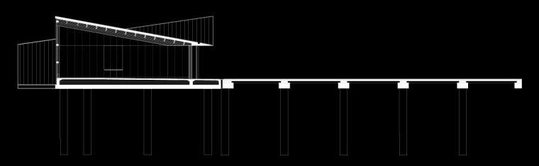 码头与海水交融的多功能建筑-11