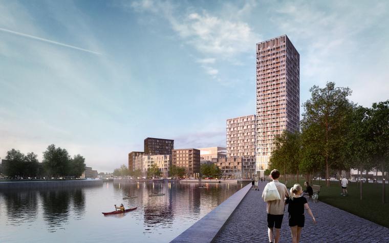 布鲁塞尔工业区景观