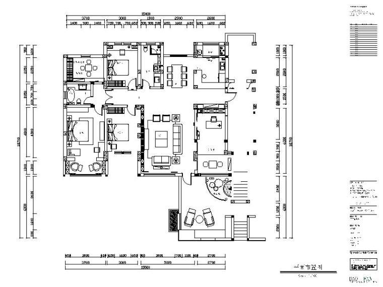 [保定]新中式别墅设计施工图(含效果图和3D模型)