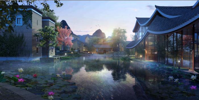 [广西]桂林风情古镇老街乡村景观设计方案(赠项目lumion动画)-效果图25