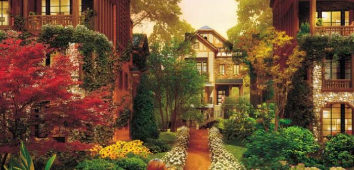 vr主题游戏公园资料下载-[辽宁]景观廊道养生主题公园概念性规划设计方案