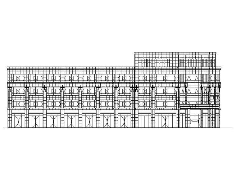 [宁夏]现代风格天然气公司加气站及办公楼施工图