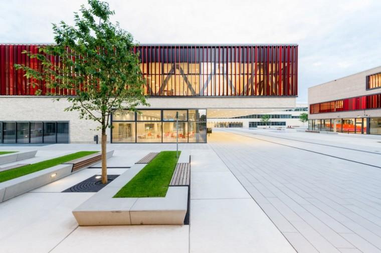 万漪景观分享--德国鲁尔西部大学新园区_2
