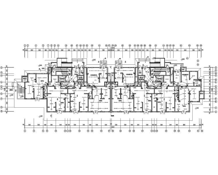 [河北]商住楼带人防电气施工图