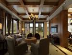 美式客餐厅3D模型下载