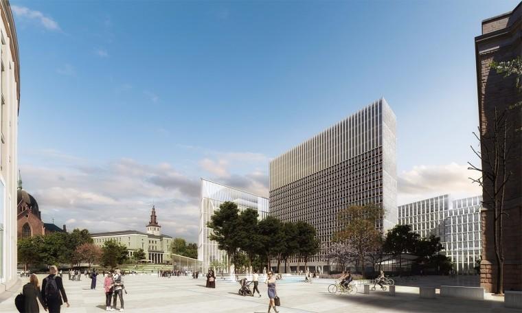 挪威政府总部大楼-4