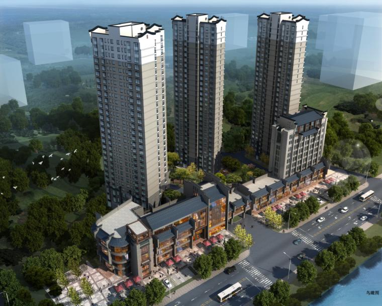 [青海]高层徽派传统民居建筑设计方案文本(含三套方案及CAD)