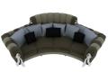 弧形沙发3D模型下载