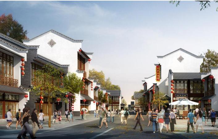 [浙江]长兴西太湖旅游度假区小镇规划设计(水乡风情)