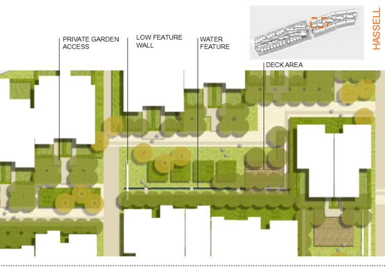 [广东]广州东平路住宅区景观规划设计(包含PPT+74页)